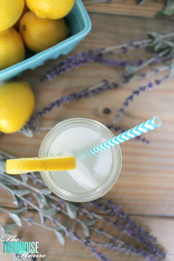 This refreshing lavender lemonade will for sure cool you down on a hot summer day! Get the recipe via TheTurquoiseHome.com