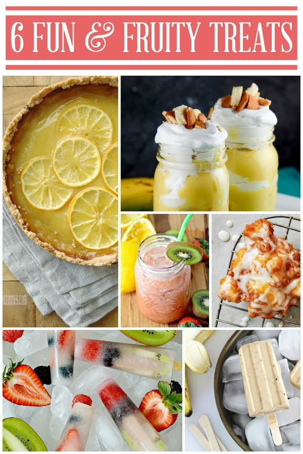 6 Fun and Fruit Treats via TheTurquoiseHome.com