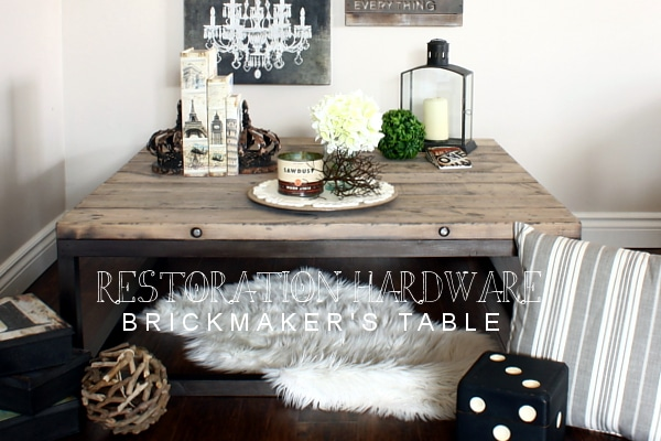 Brickmaker's Table from AKA Design