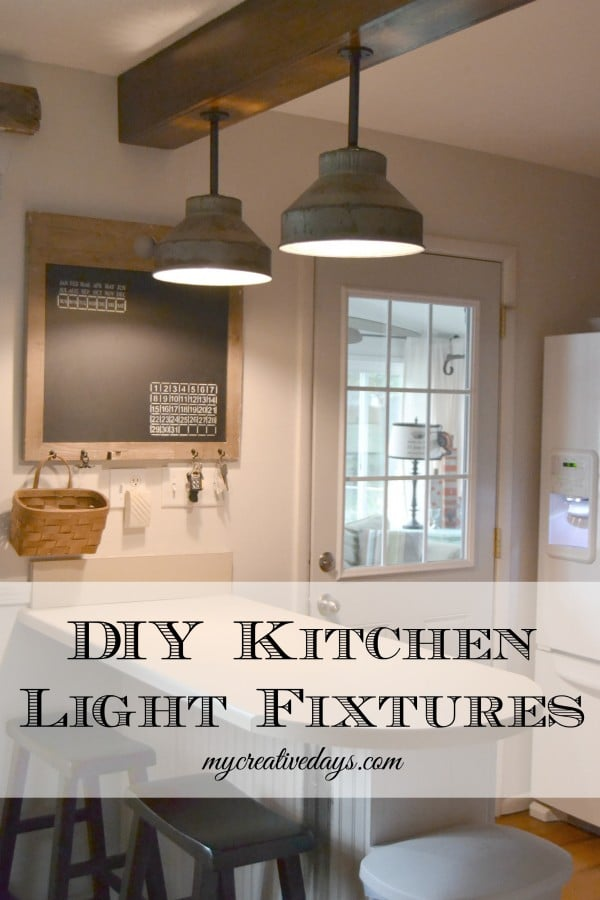 Galvanized Kitchen Lights