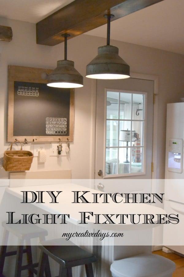 Galvanized Kitchen Lights