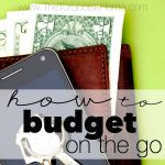 How to Budget On The Go