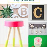 5 Crafty Creations + Work it Wednesday No. 107