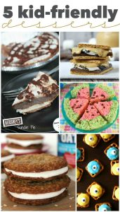 5 Kid-Friendly Desserts | Roundup via TheTurquoiseHome.com