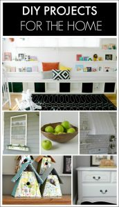 DIY Projects for the Home | Roundup via TheTurquoiseHome.com