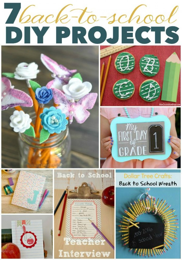 7 Back-to-School DIY Projects