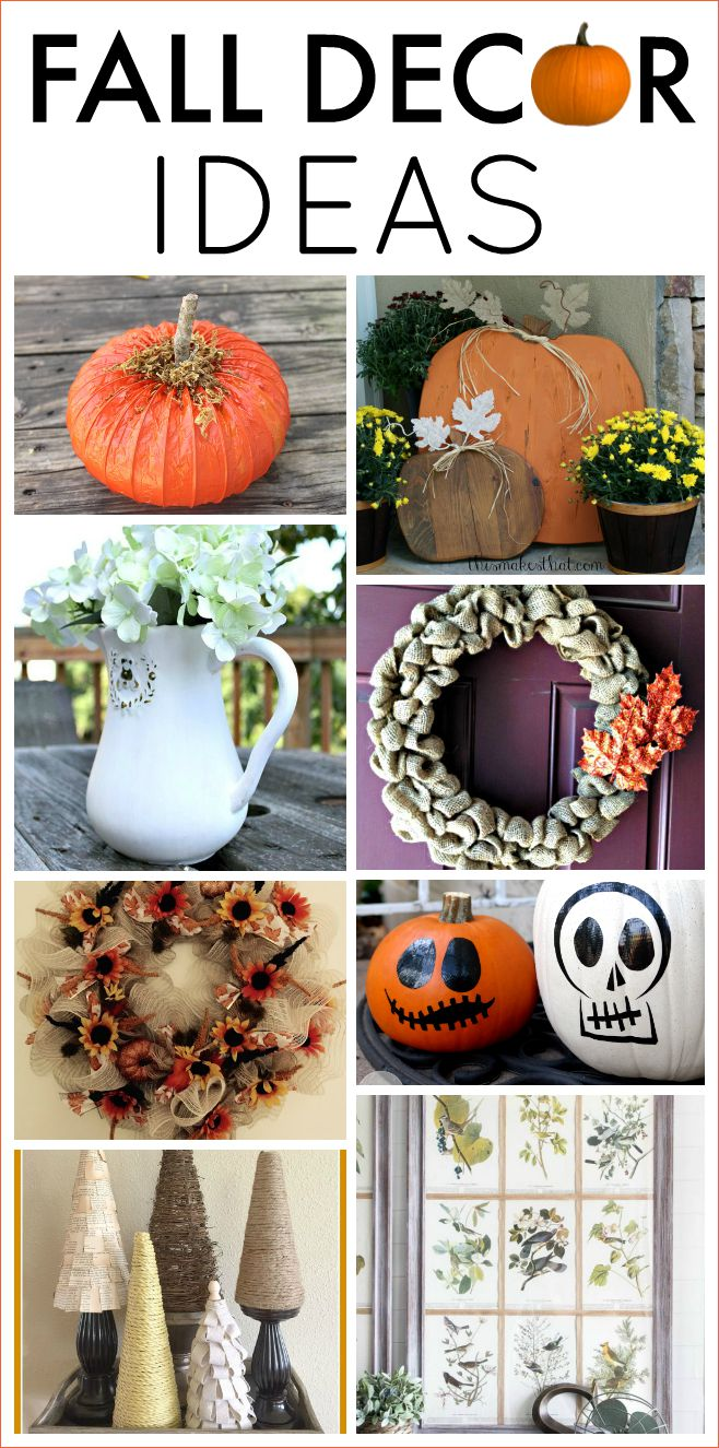 Fall Decor Ideas Work It Wednesday No 113 The