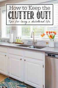 How to Keep the Clutter Out