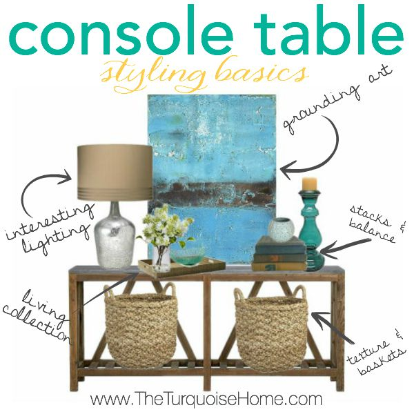 15 Entrance Hall Table Styles To Marvel At: Console Table Styling Basics