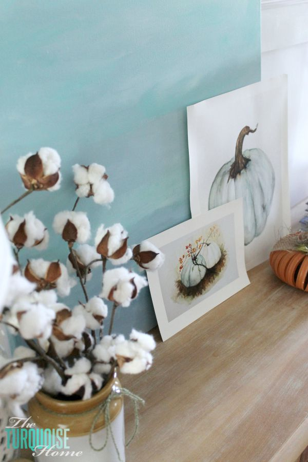 How to decorate a console table: the process   Find out more details at TheTurquoiseHome.com