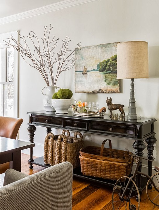 Console Table Styling Basics The Turquoise Home