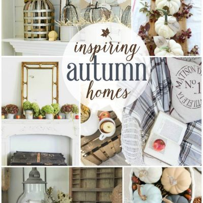 Inspiring Autumn Homes | Roundup via TheTurquoiseHome.com