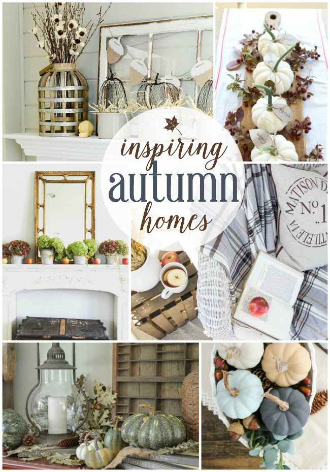 Perfect Inspiring Autumn Homes