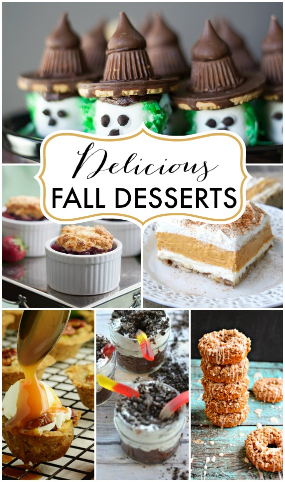 Perfect for a Thanksgiving treat!! Delicious Fall Desserts | TheTurquoiseHome.com