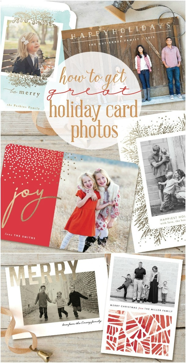 Are you always running around at the last minute trying to get the perfect picture for your Christmas cards? Try these 4 tips for getting a great holiday card photo. You're welcome!