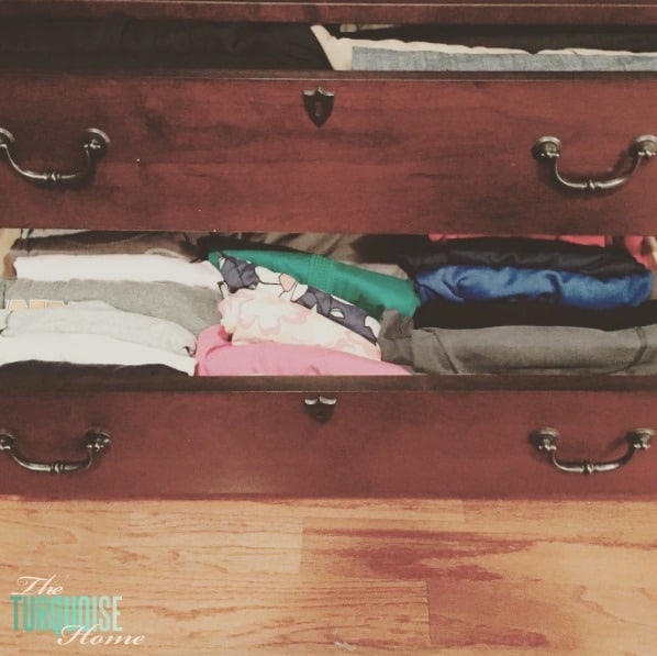 The Art of Folding from The Life-Changing Magic of Tidying Up | TheTurquoiseHome.com