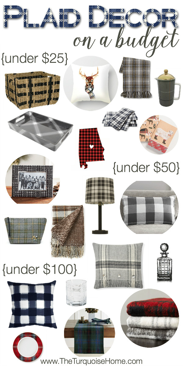 Plaid is HOT right now. And it's a great style for transitioning from fall, through Christmas and into winter. Love it!! | Details at TheTurquoiseHome.com