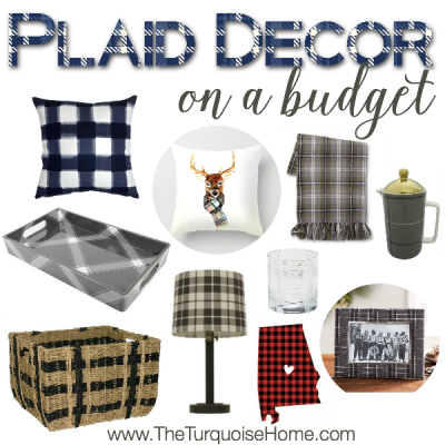 Style Trend: Plaid Decor on a Budget