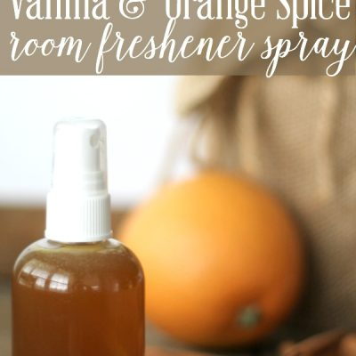 Vanilla & Orange Spice Room Freshener Spray