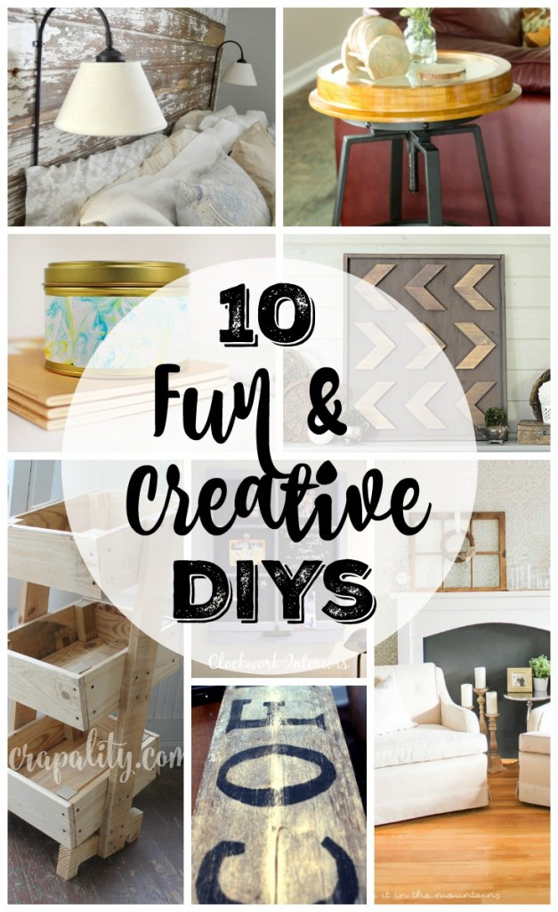 10 fun and creative diy projects the turquoise home for Fun at home projects