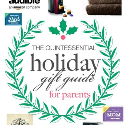 Struggling with what to buy your parents? Here's a quick helpful list! The Quintessential Holiday Gift Guide for Parents | TheTurquoiseHome.com