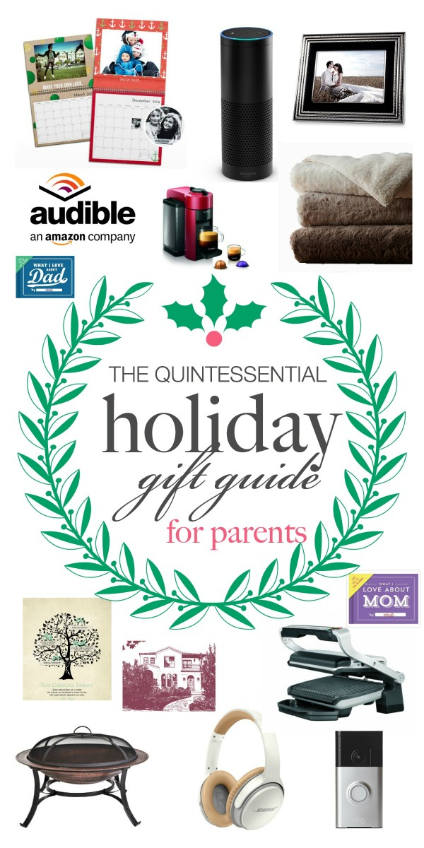 The Quintessential Holiday Gift Guide for Parents