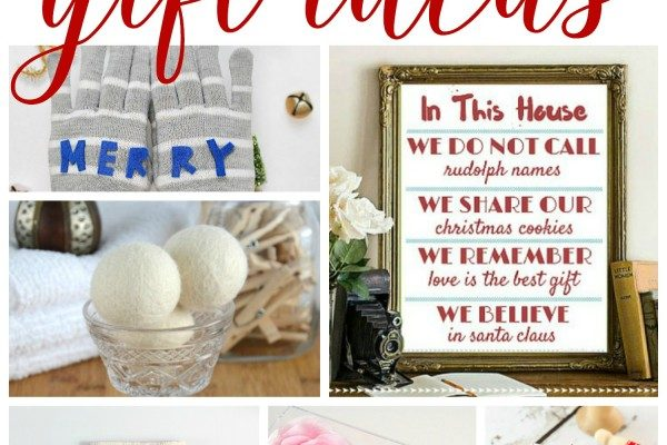 10 DIY Last-Minute Gift Ideas | Roundup at Work It Wednesday