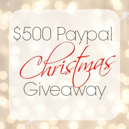 Enter to win $500 in Paypal cash!!