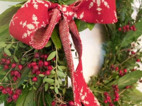 All Natural Evergreen Wreath Tutorial | The Everyday Home