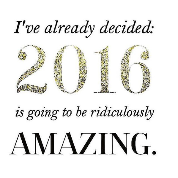 2016 will be Amazing! + Goal Setting Printable