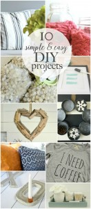 10 Simple and Easy DIY Projects