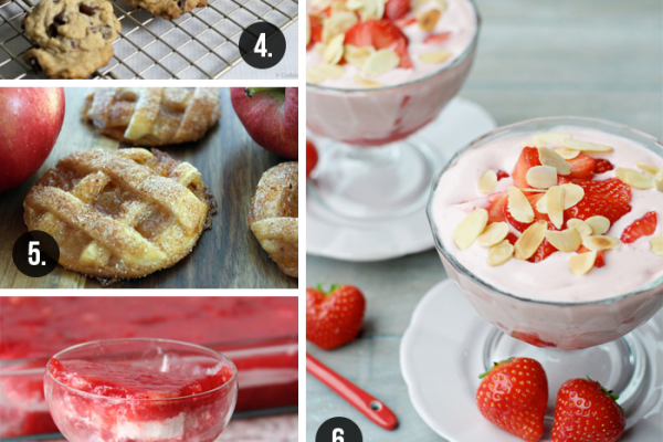 11 Scrumptious Sweets | Roundup at TheTurquoiseHome.com