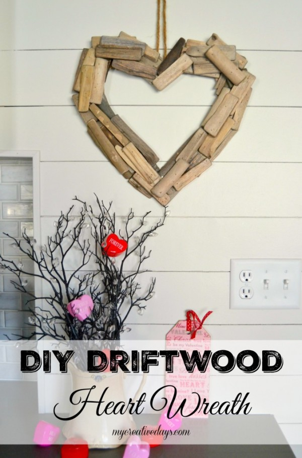 Driftwood Valentine's Day Wreath