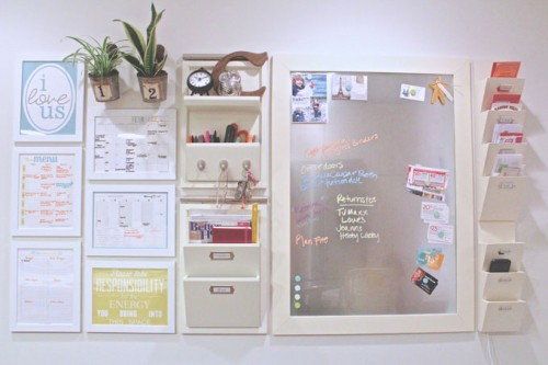 Command Center with Printables