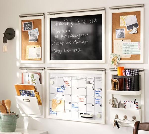 Daily Wall Organizational System