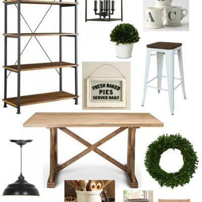 Style Trend: Industrial Farmhouse Kitchen