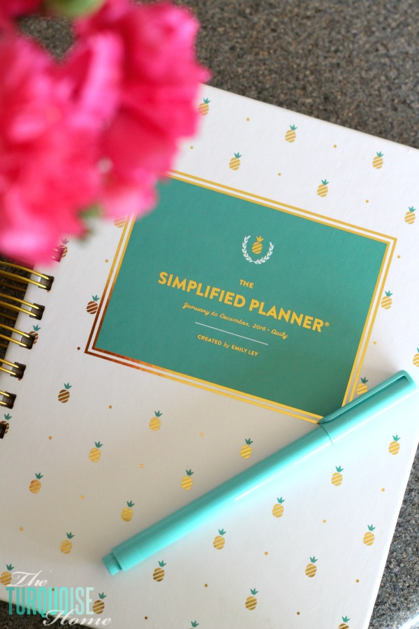 The Simplified Planner from Emily Ley | Details at TheTurquoiseHome.com