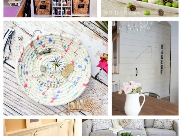 12 Fantastic DIY Projects featured from Work it Wednesday