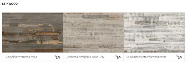 Stikwood Reclaimed Weathered Wood