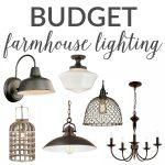 Budget Farmhouse Lighting