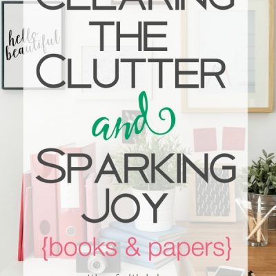 Decluttering Books and Papers: The KonMari Method