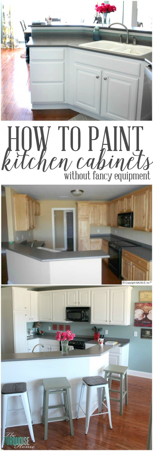 To Paint Kitchen Paint Kitchen Cabinets Without Fancy Equipment