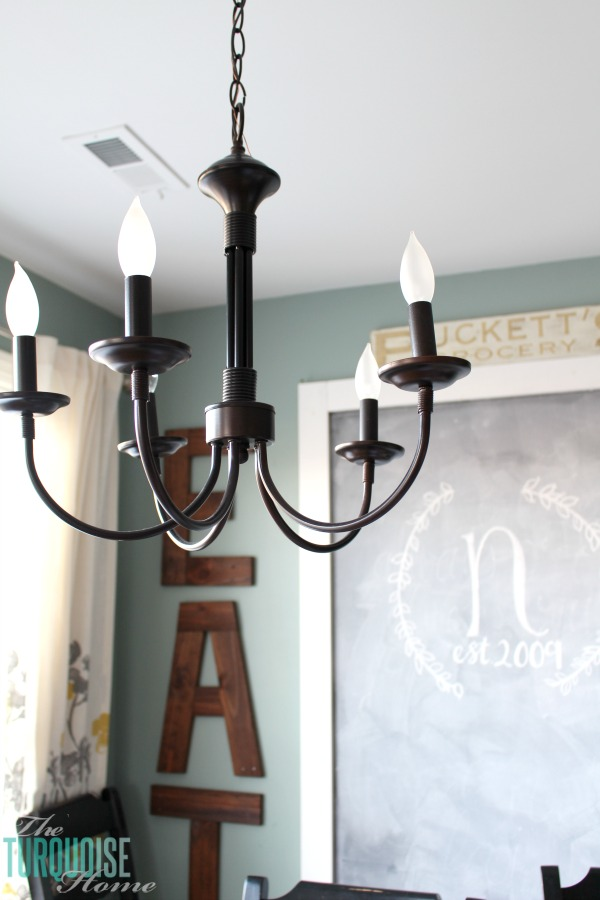 Bel Air 5 Light Chandelier | My New Farmhouse Chandelier For My Kitchen |  TheTurquoiseHome