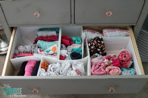 159ec37a78a YAY for IKEA Skubb drawer organizers! How to organize kids  clothing  drawers.