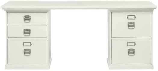 The Bedford 5-Drawer Desk from Pottery Barn is beautiful and functional!