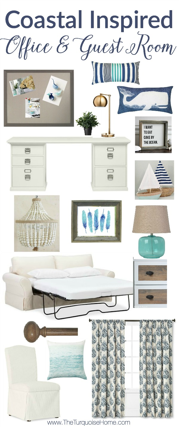 Bedroom and Office Inspiration with a Nautical Theme