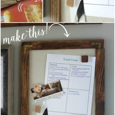 How to Make a Magnetic Message Board