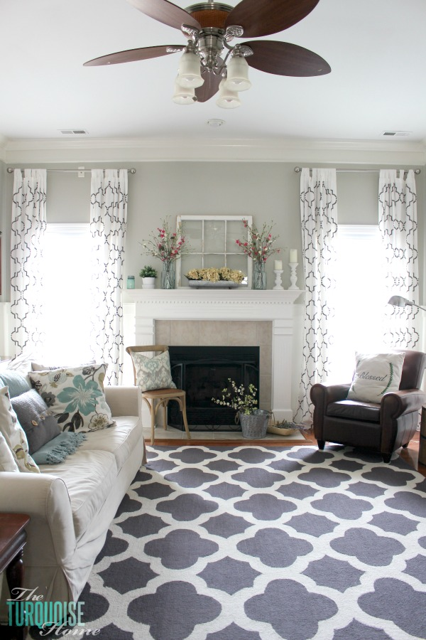 Farmhouse Fresh Spring Mantel All The Details To Get This Look At Theturquoisehome