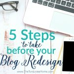 5 Steps to Take Before Your Blog Design Refresh