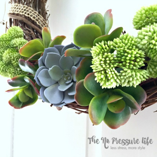 Succulent Wreath Tutorial